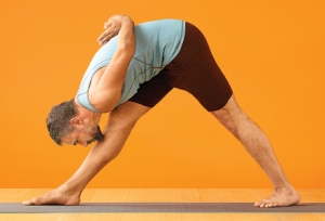 Yoga Journal Parsvottanasana
