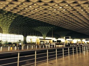Chhatrapati Shivaji International Airport on a quiet morning.