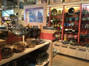 LOCAL ART Here you can find unique pottery and other artwork, including that made by First Nations peoples.