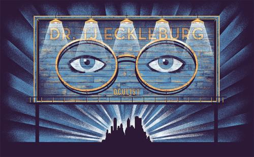 Eyes of Dr TJ Eckleburg